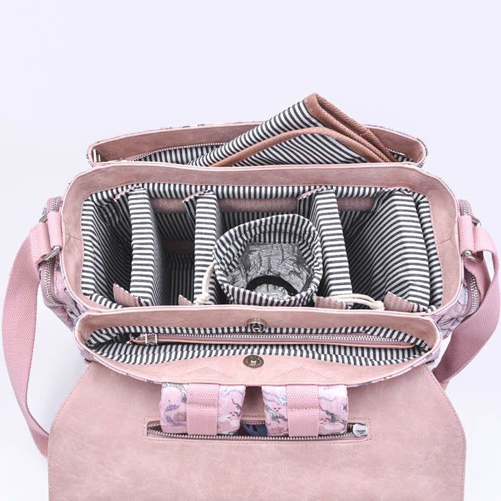 NEW- Oceana Mermaids Pink Diaper Bag - Siren Satchel