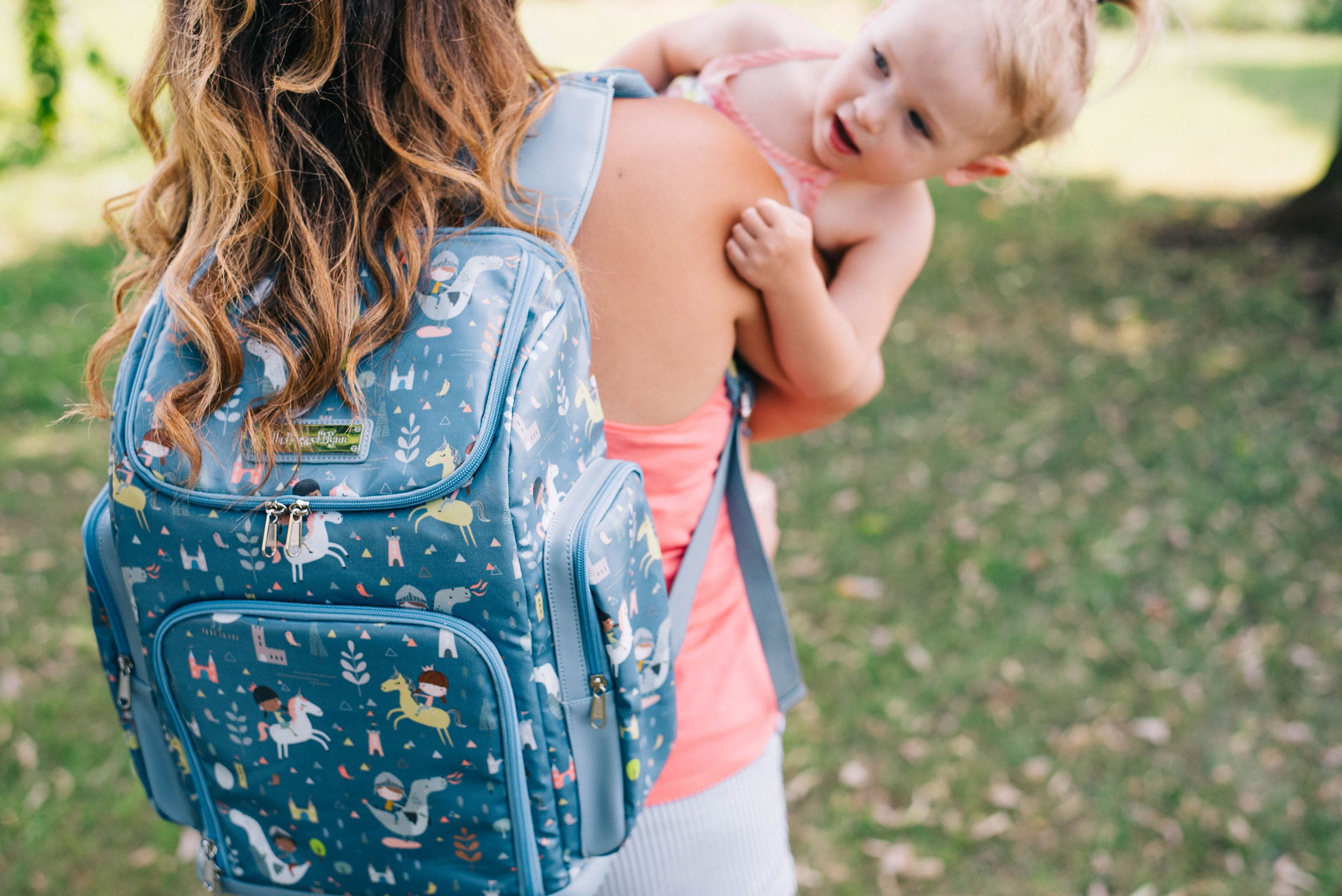 dragons and unicorns diaper bag backpack house of flynn