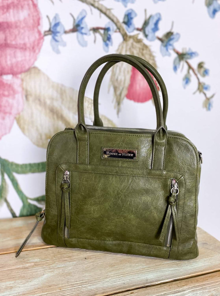 NEW!  Luna Bag- Summer Moss