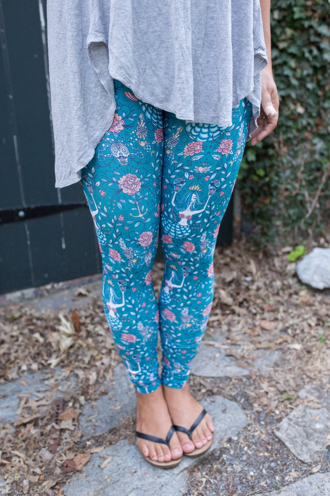 Women's Leggings- Mermaid Tribe