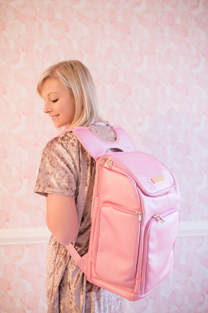 CLEARANCE- The Backpack- Dollhouse Pink