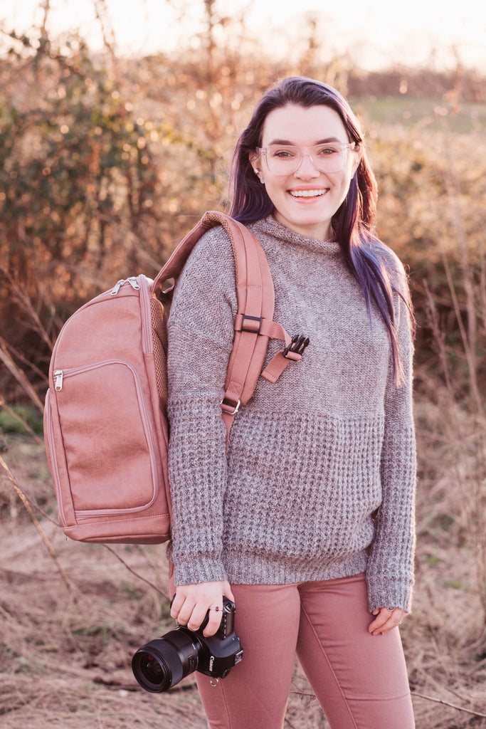 The Backpack - Roaming Rose