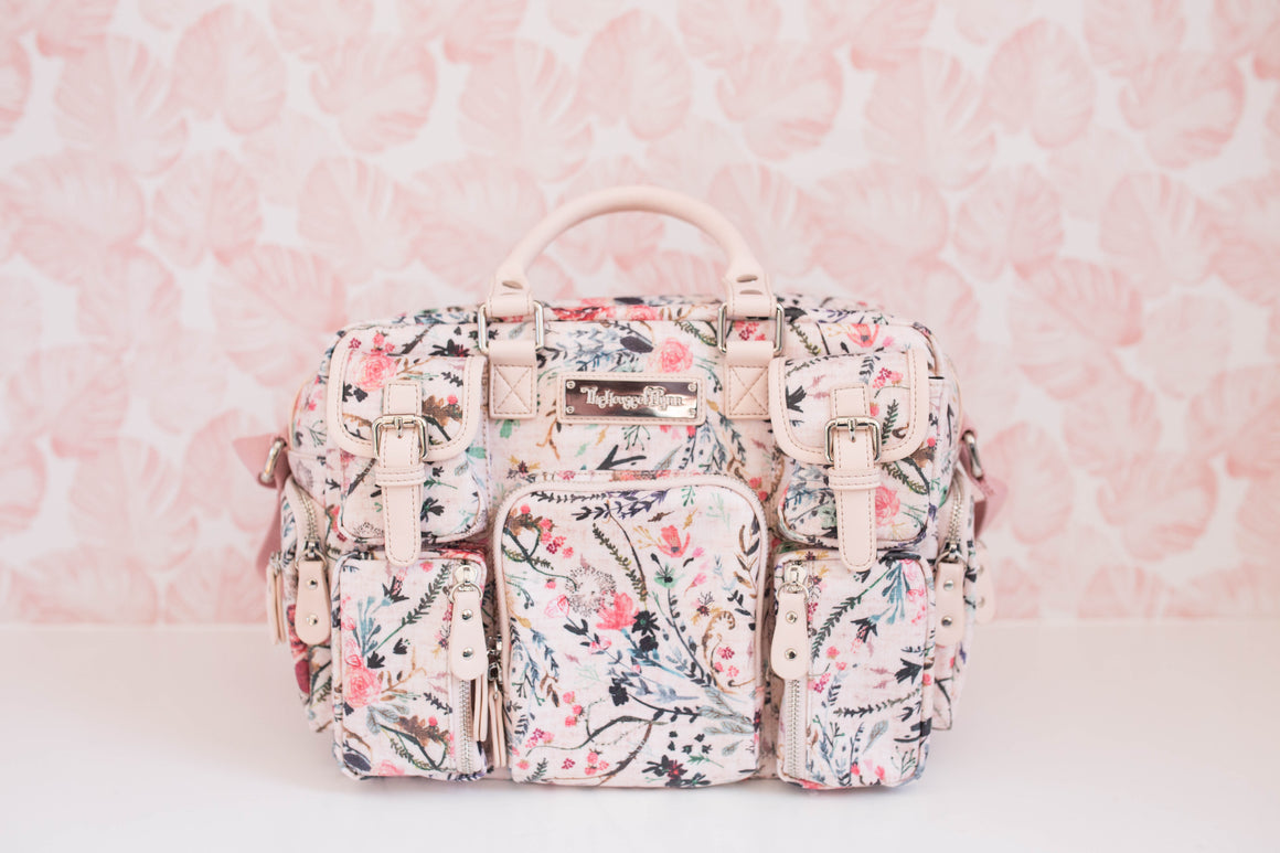 NEW!- Pink Fable Floral MINI Evermore