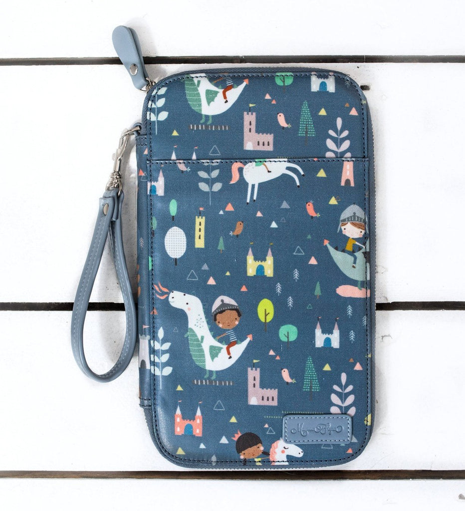 CLEARANCE- Dragons and Unicorns Traveler's Wallet