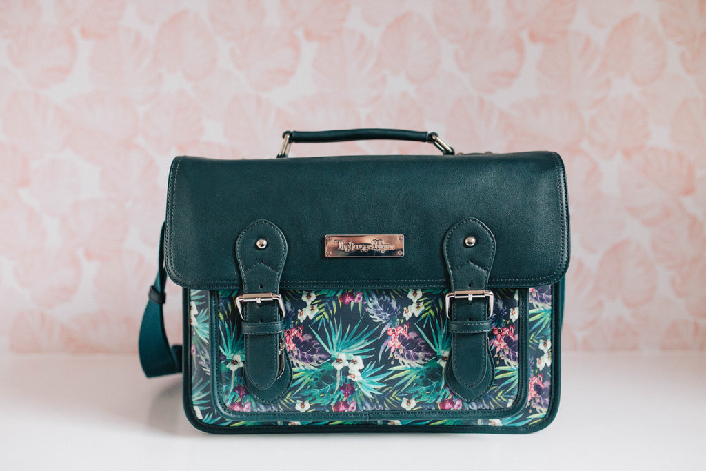 CLEARANCE- Nymph Messenger- Tropical Black