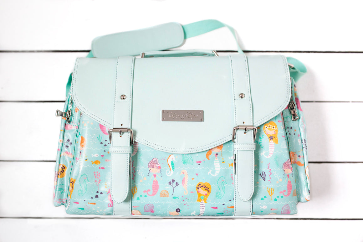 Mermaids Diaper Bag - Siren Satchel