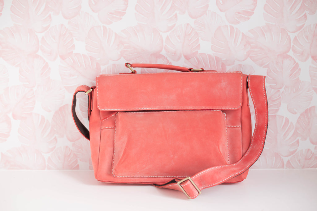 Limited- Coral Stardust Purse