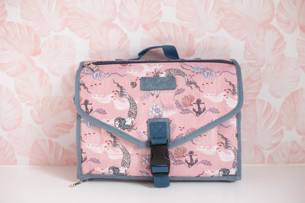 Oceana Mermaids Diaper Bag Clutch