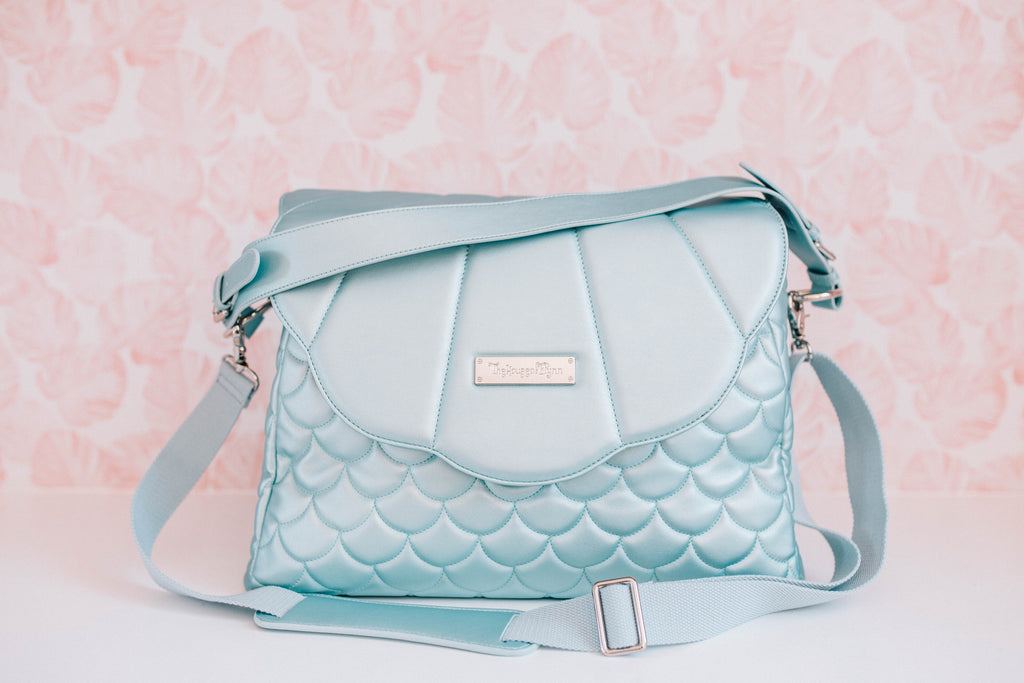 Sale- Sky Blue Merbabe Bag