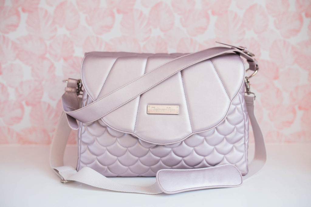 CLEARANCE- Lilac Merbabe Bag