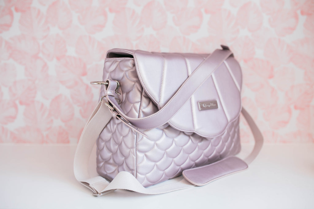 Clearance-Lilac Merbabe Bag