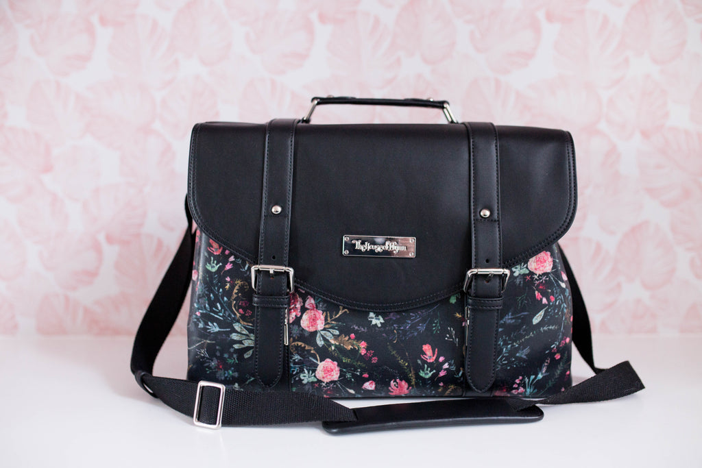 Black Fable Floral- Siren