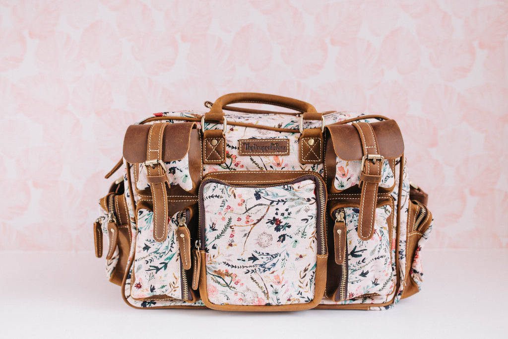 Blush Fable Canvas and Leather Evermore
