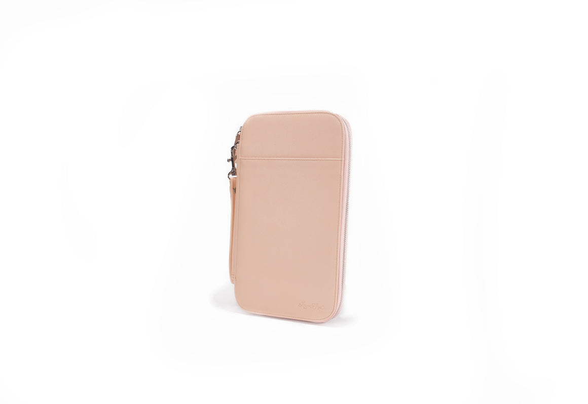 PRESALE- Peach Blossom Traveler's Wallet