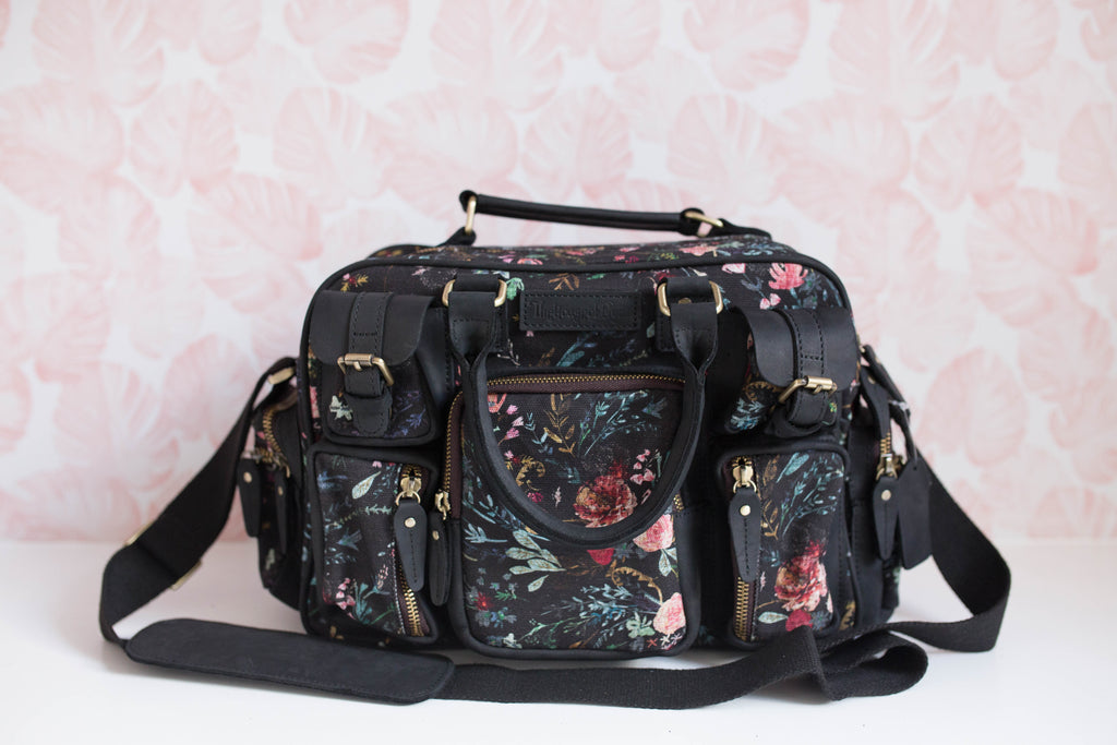 NEW! Black Fable Canvas Mini Evermore