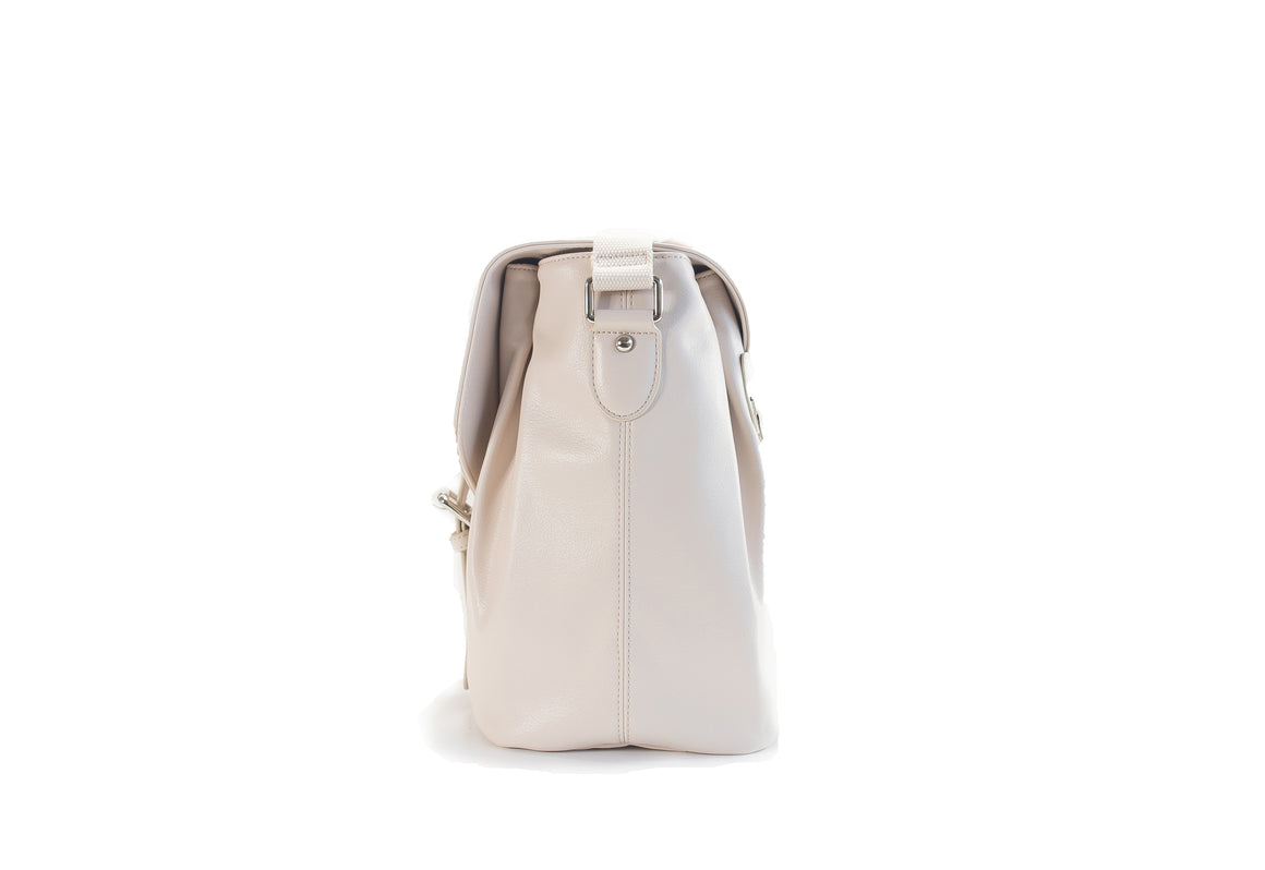 CLEARANCE- Siren Satchel- Cotton Blossom
