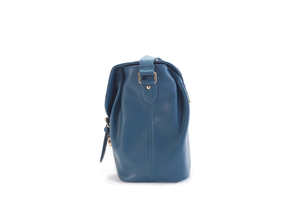 CLEARANCE- Siren Satchel- Burnt Teal