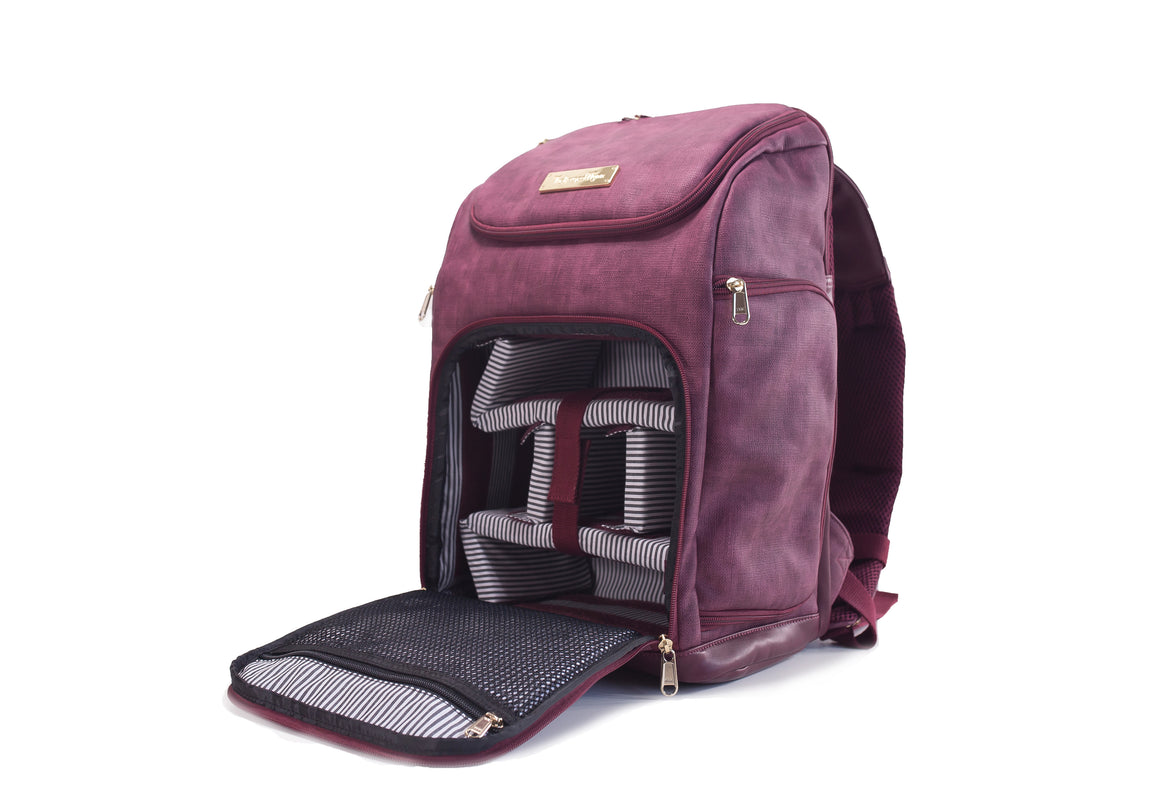 The Backpack- Tropical Plum