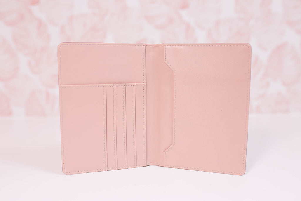 NEW!-  Blooming Blush Small Wallet/Passport Cover