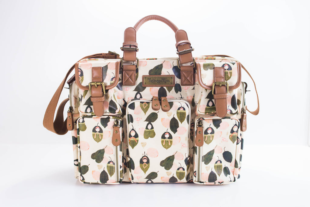 Leaf Sleepers Diaper Bag - Evermore