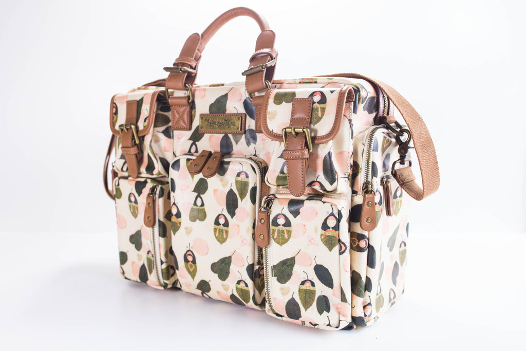 CLEARANCE- Leaf Sleepers Diaper Bag - Evermore
