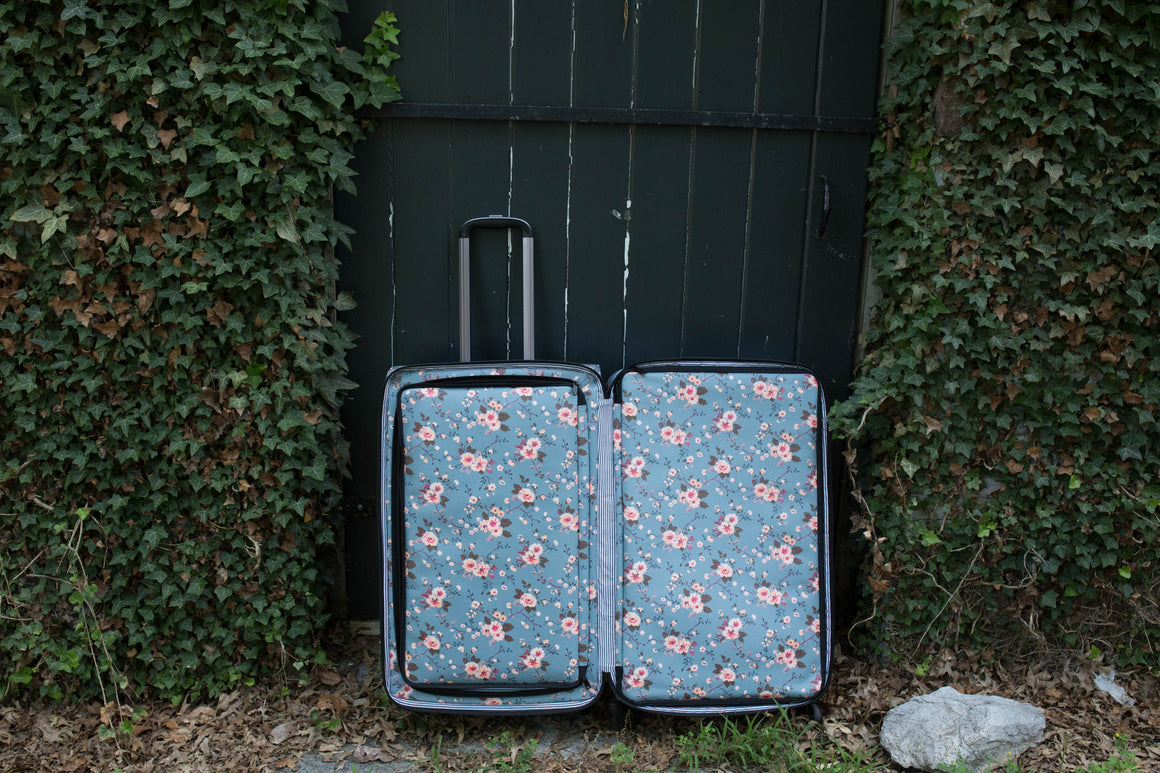 CLEARANCE- Large Shoot Case - Cherry Blossom
