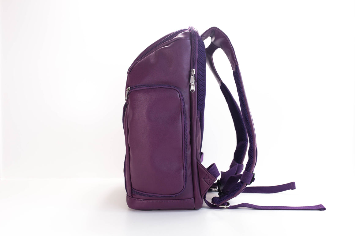 NEW!-The Backpack- Royal Plum