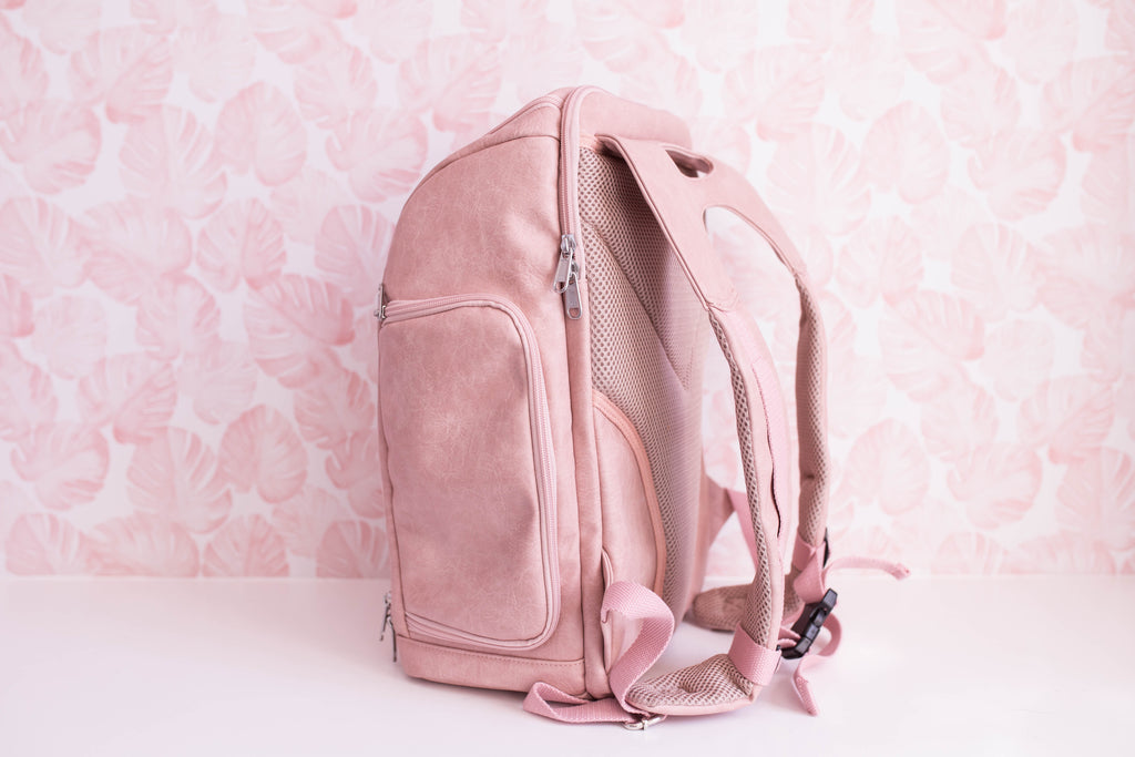 The Backpack - Blooming Blush