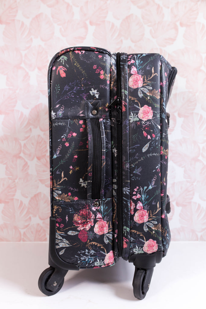 NEW!- EARLY PRESALE!- Black Fable Camera Travel Shoot Rolling Bag