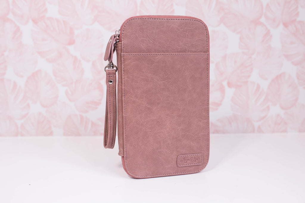 CLEARANCE - Roaming Rose Traveler's Wallet