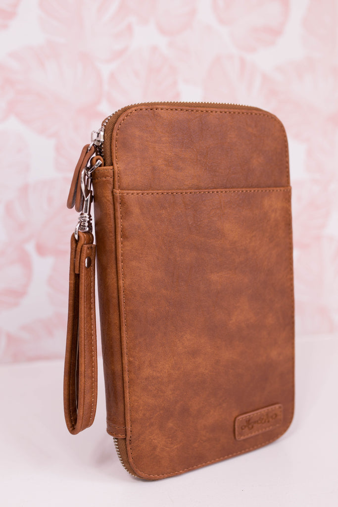 Warm Honey Traveler's Wallet