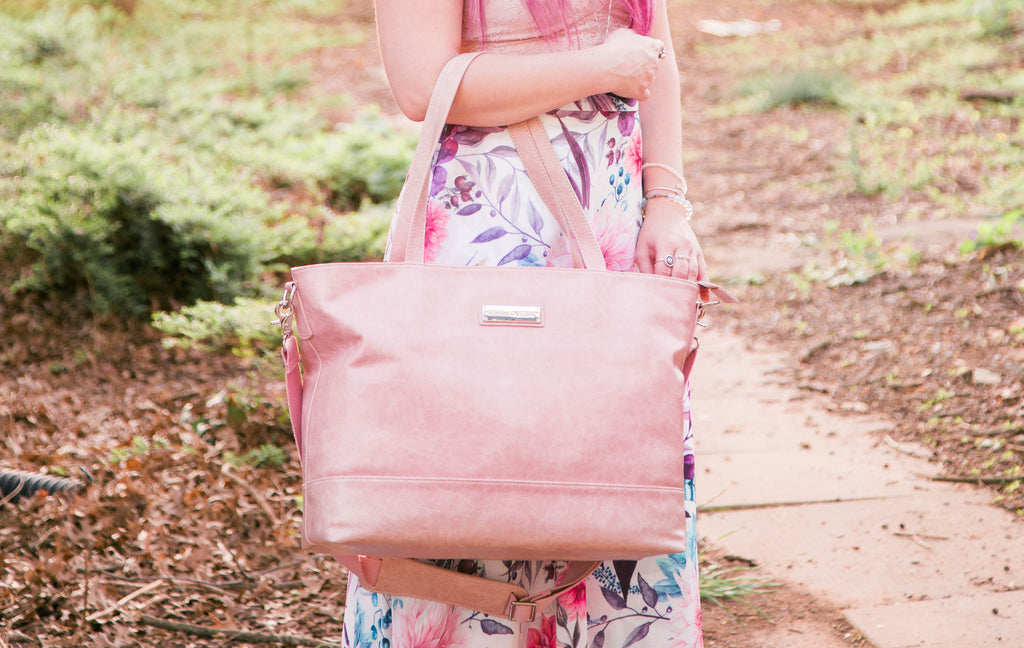Blooming Blush-The Roam and Rise Carryall