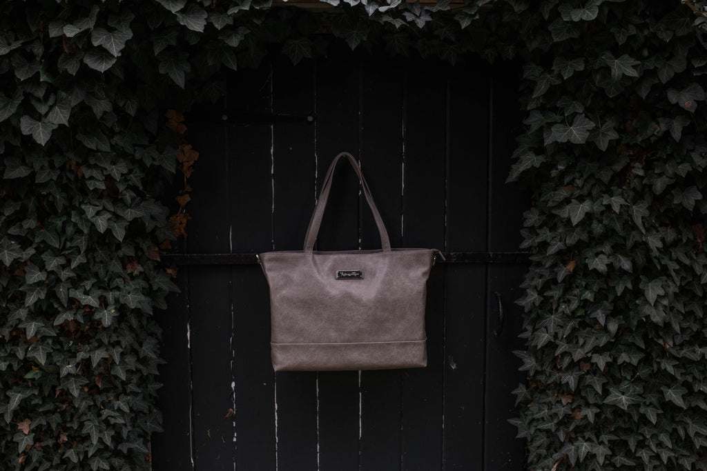 SALE- Roam and Rise Carryall -Stormy Gray