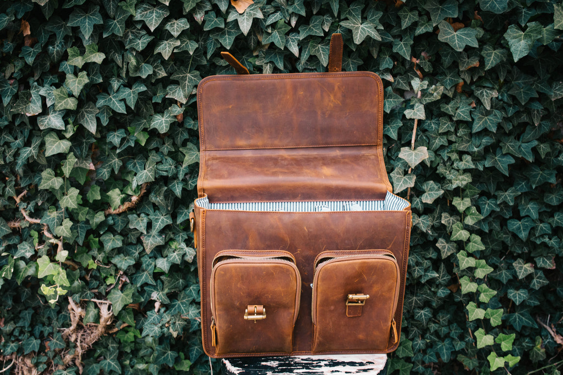 NEW!- Wanderlust Leather Bag