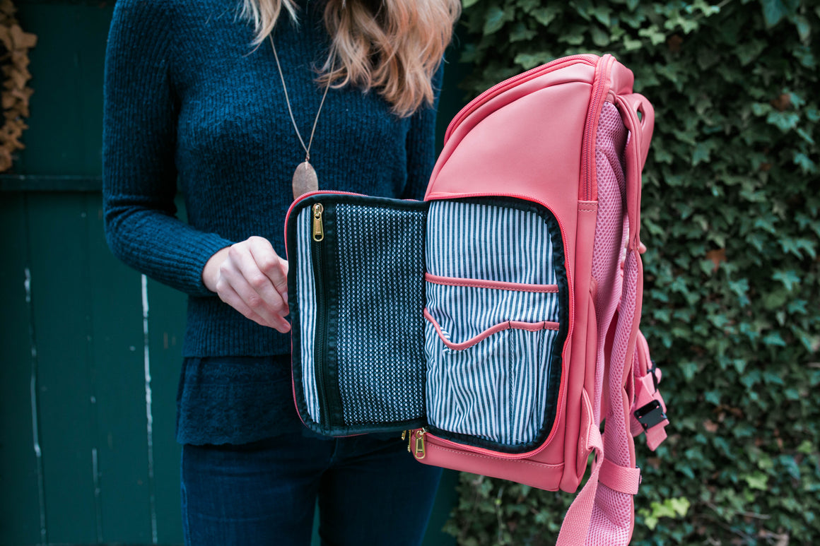 NEW! PRESALE- The Backpack- Flamingo Pink