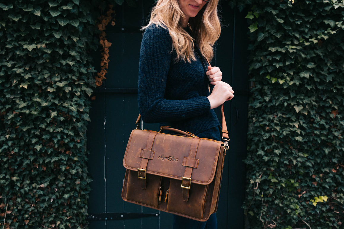 NEW! Wanderlust Leather Bag