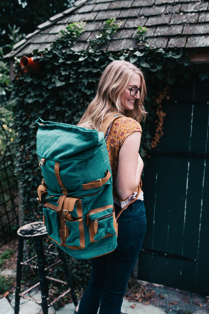 Safari Edition Rucksack- Tropical Storm Teal