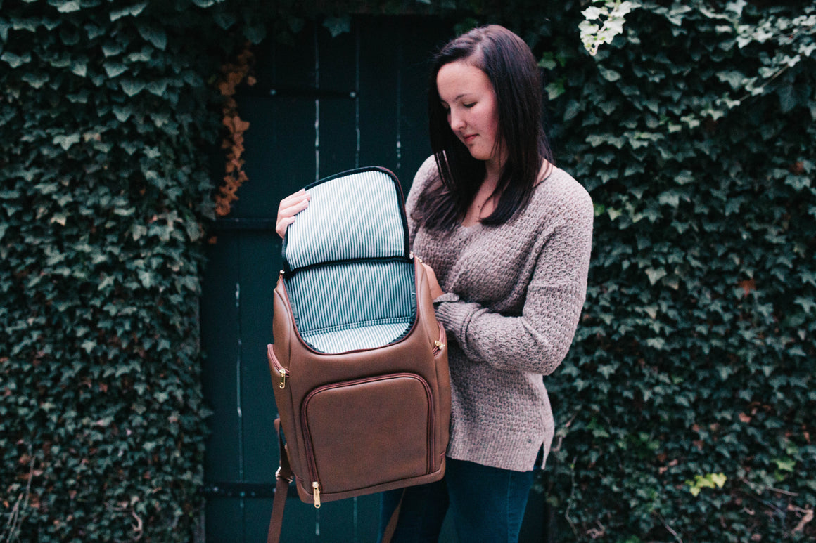 NEW!-PRESALE -The Backpack- Cappuccino