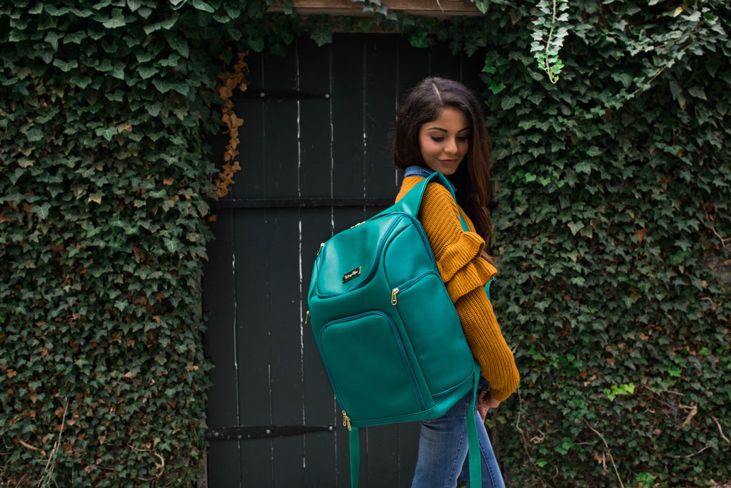 SALE- The Backpack- Jade Jewel