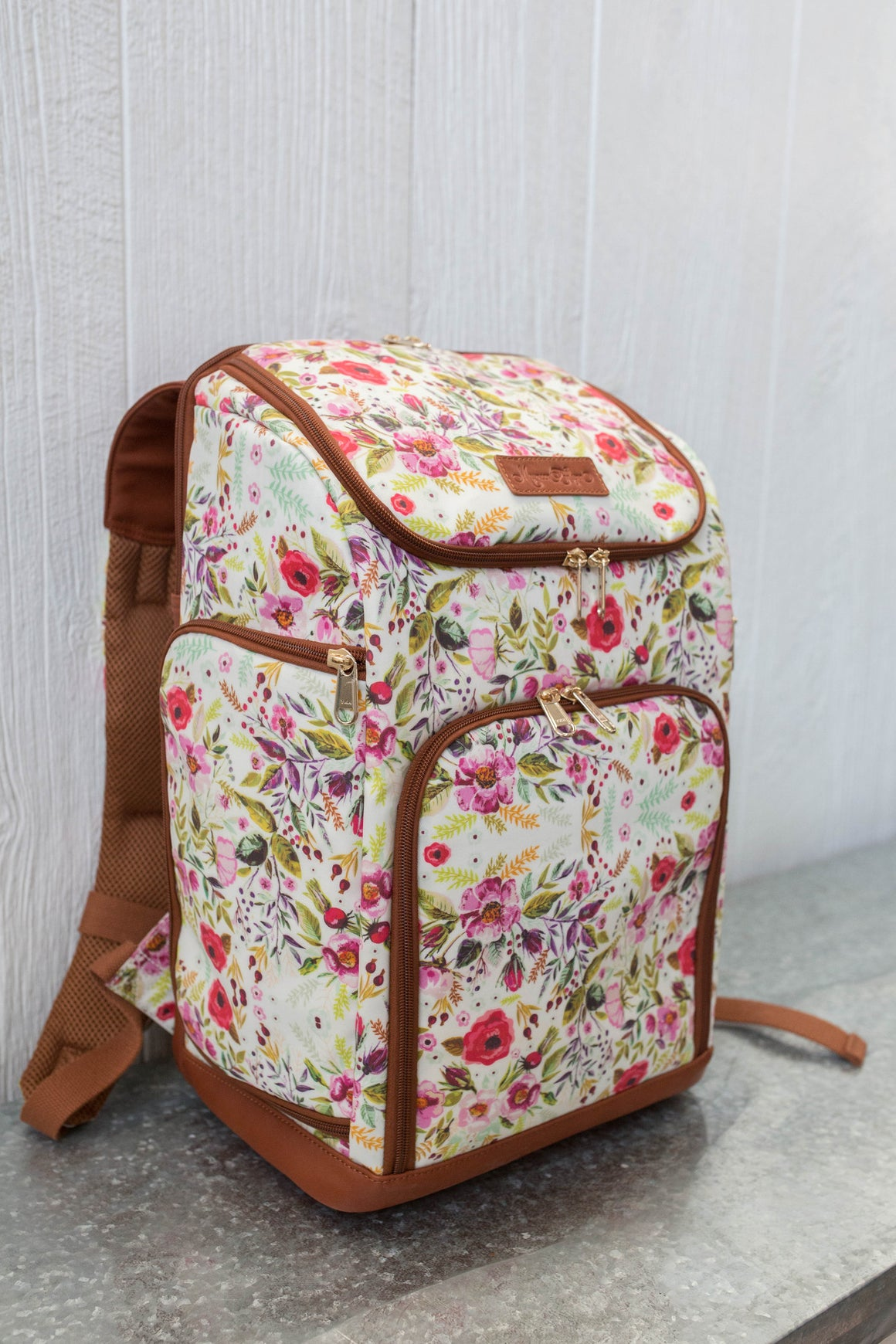 CLEARANCE- The Backpack- Garden Floral