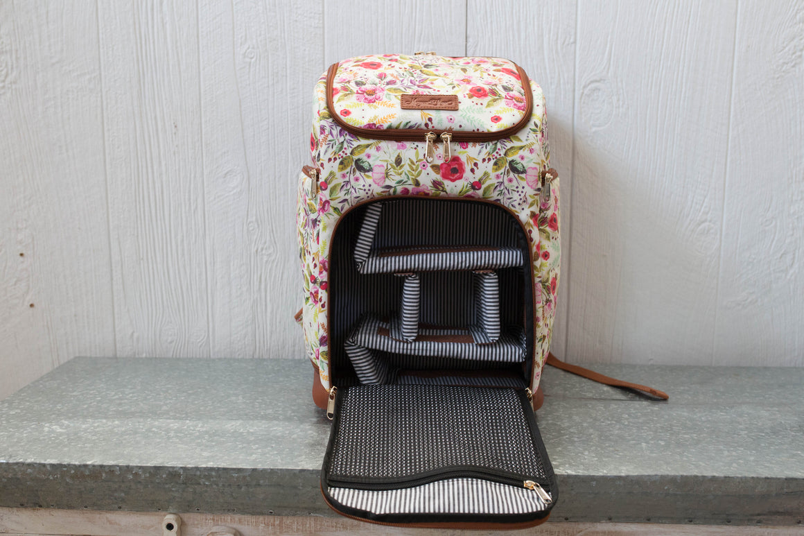 The Backpack- Garden Floral