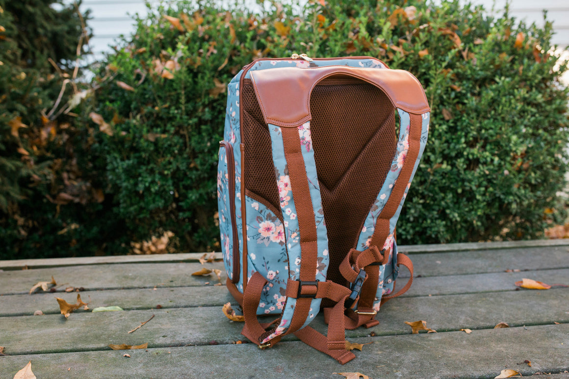 Clearance- The Backpack- Cherry Blossom