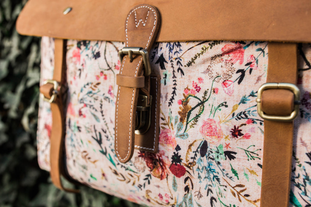 Wandering Gypsy Tote- Blush Fable Floral