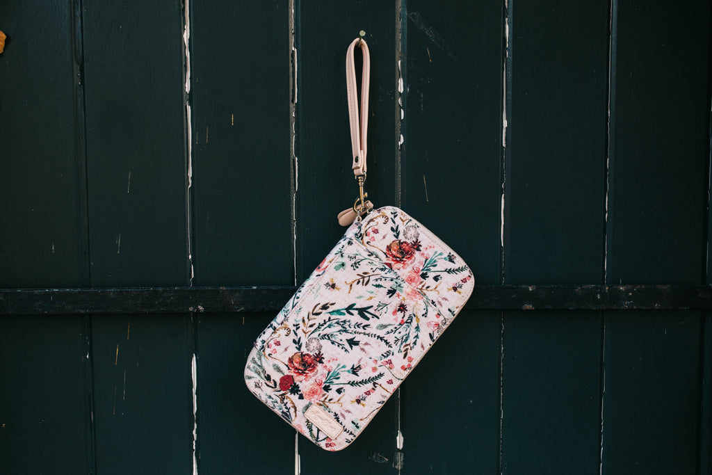 CLEARANCE- Blush Fable Traveler's Wallet