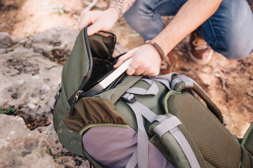 CLEARANCE -Jungle Green- Photographer Travel Rucksack
