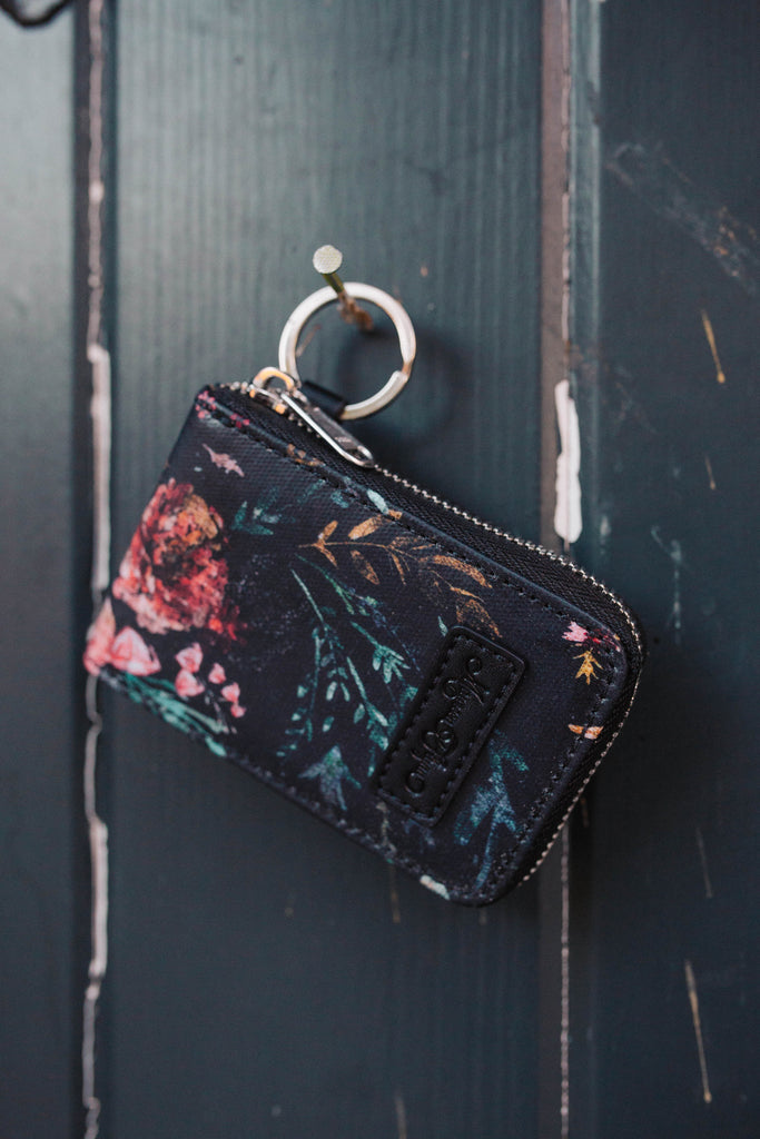 Black Fable Card Holder