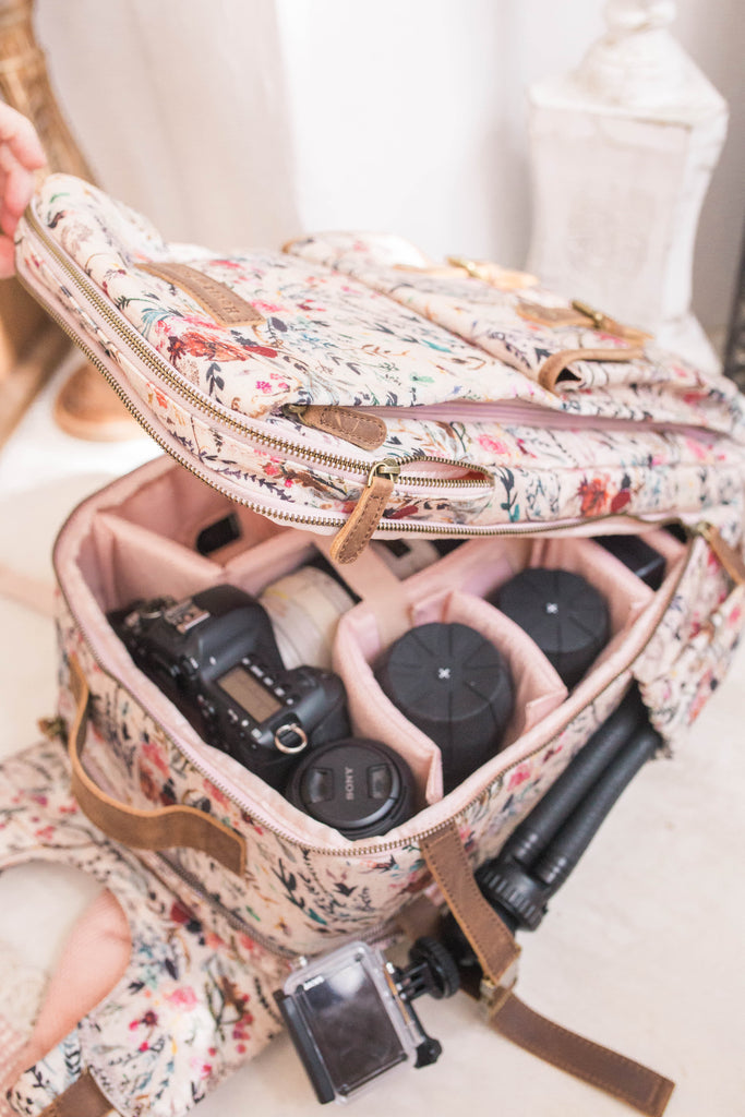 PRESALE- Blush Fable- Camera Backpack