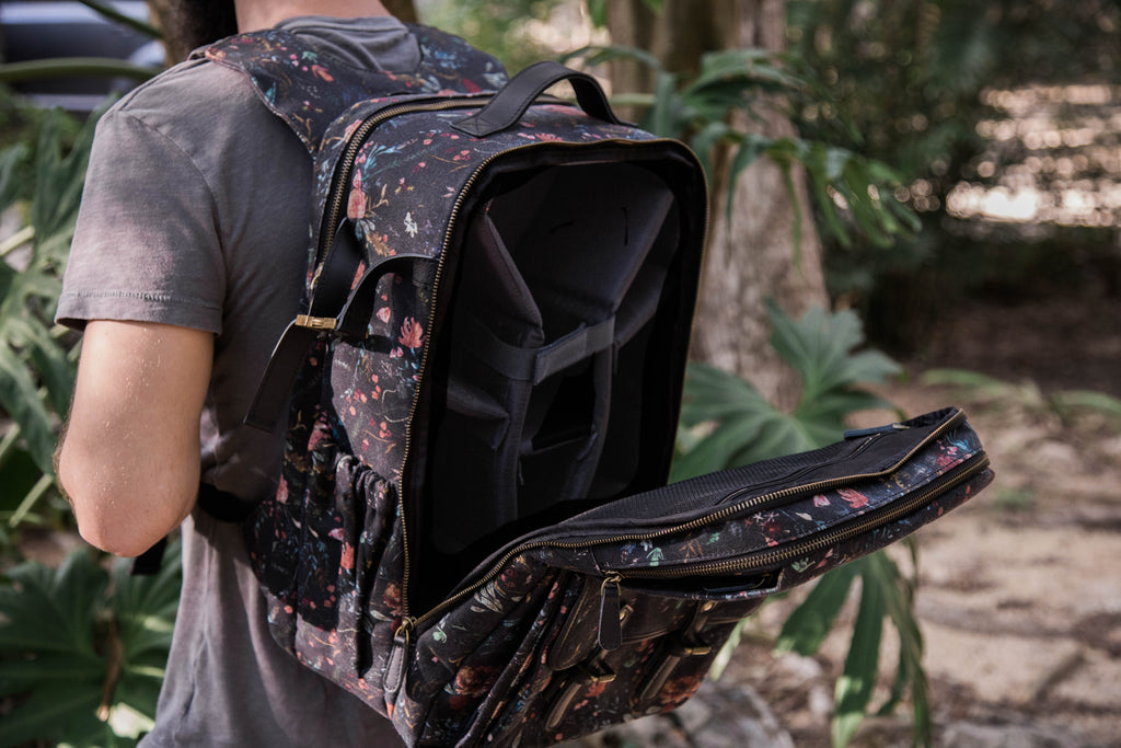 Black Fable- Camera Backpack