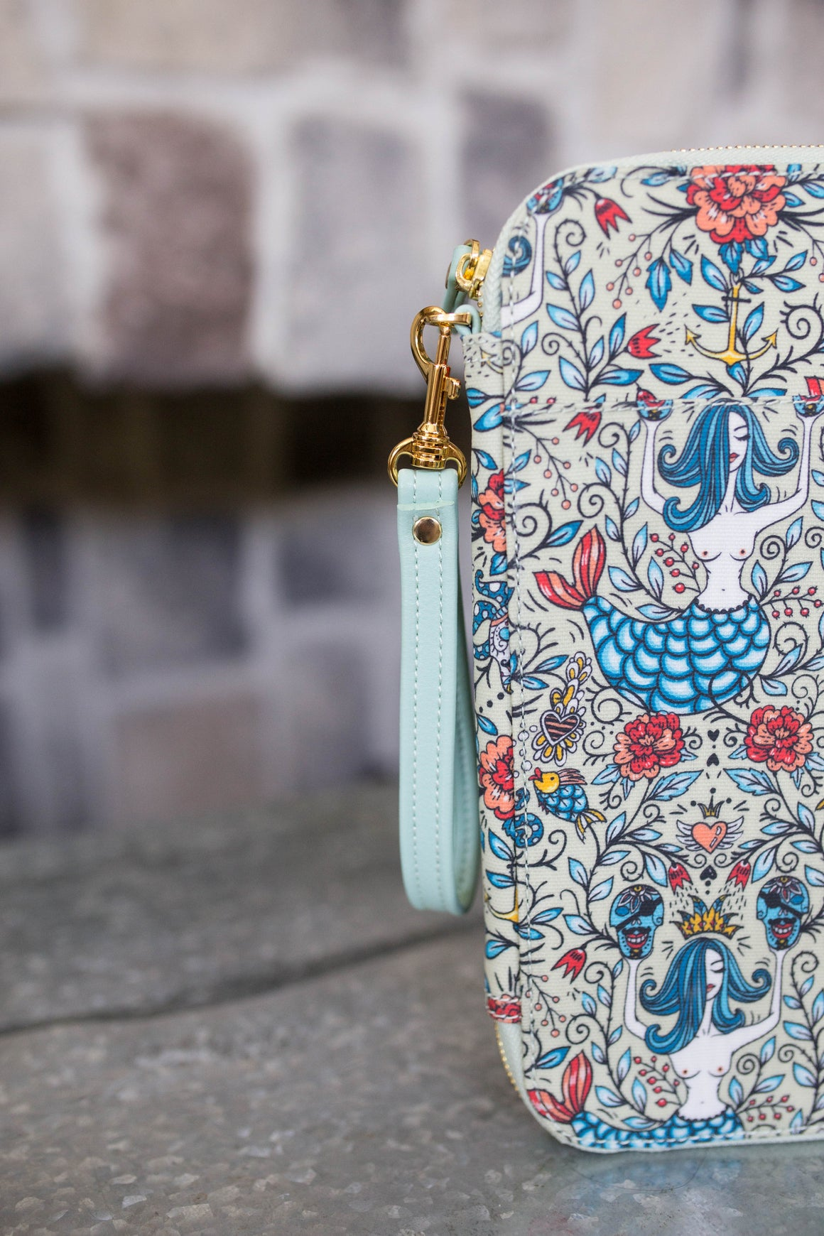 CLEARANCE- Mermaid Tribe Traveler's Wallet