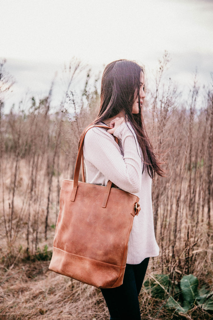 Everyday Bag- Vintage Brown